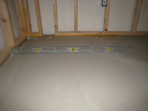 Bathroom Floor Leveling Compound : Self Leveling Underlayments Achieving  Level One