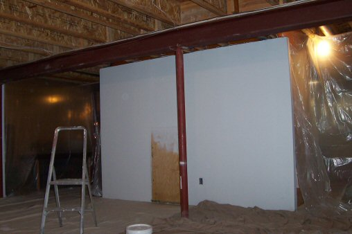 primed i-beam joist