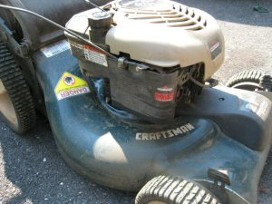 craftsman push lawn mower briggs and stratton engine
