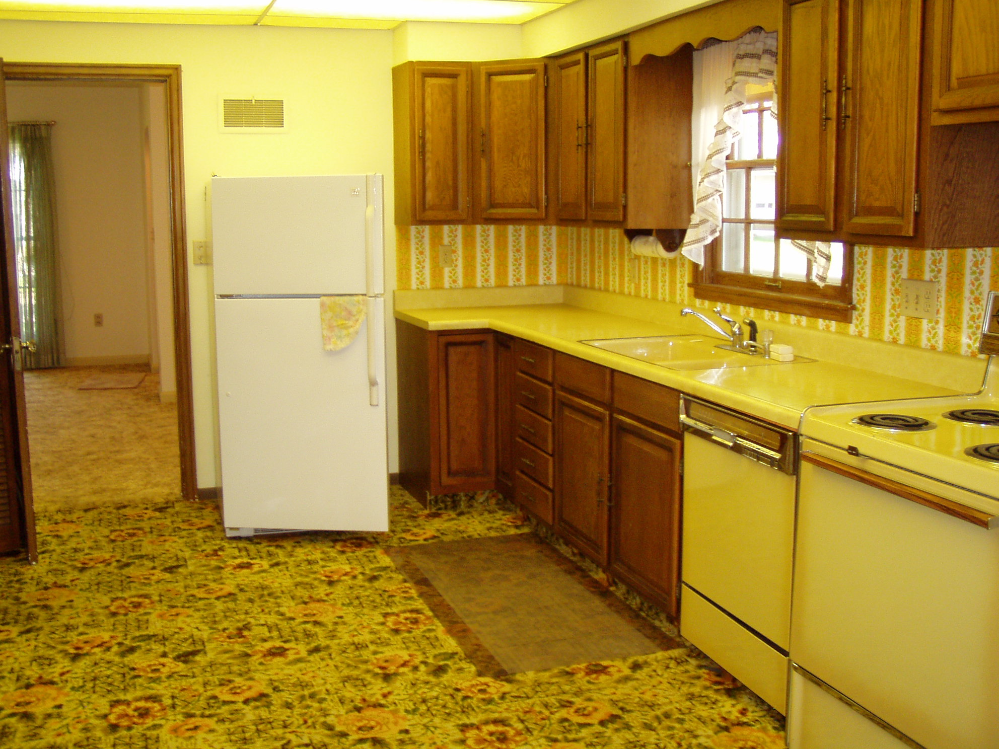 Kitchen Carpeting Flooring Cupboards Kitchen And Bath When Trends Attack Kitchen Carpet Edition