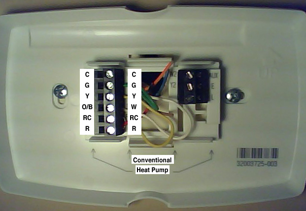 programmable thermostat wiring