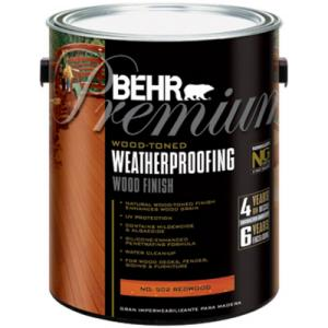 Behr Premium Deck And Fence Weatherproofing Sealer Review One Project