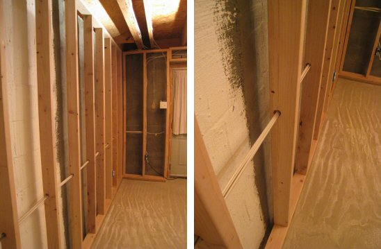 basement wall insulation options one project closer