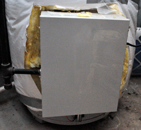 Gas Water Heater Cover