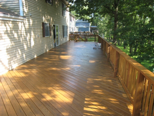 behr deck stain, natural no. 500, orange