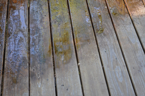 how to remove behr deck stain