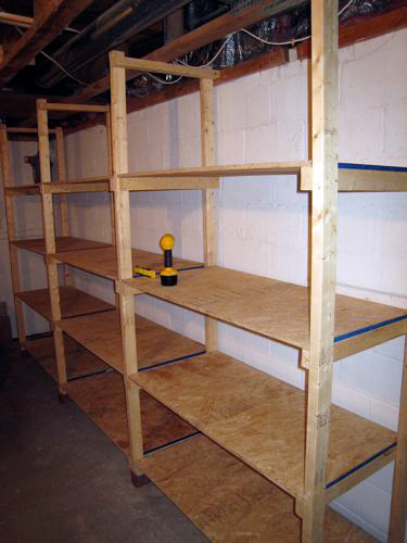 DIY Basement Storage Shelves | 375 x 500 · 56 kB · jpeg