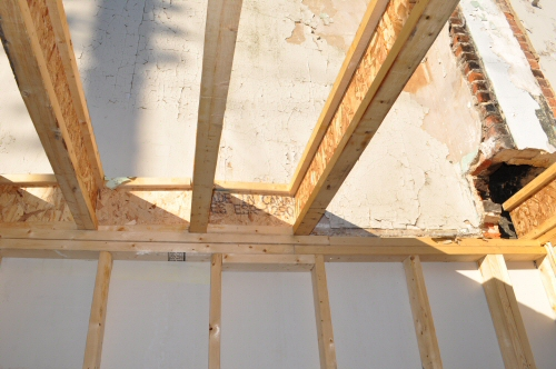 wood i joist blocking instead of rim joist