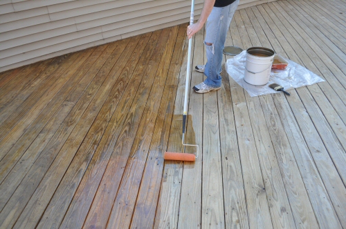 X-100 Deck Stain & Sealer Review - One Project Closer