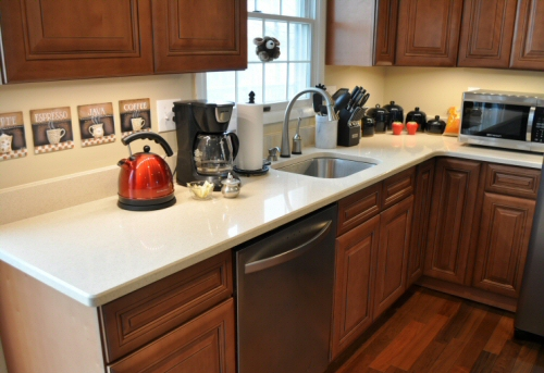Zodiaq Countertop Reviews : DuPont Zodiaq Countertop Installation & Review - One Project Closer