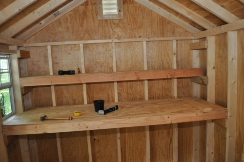 Storage Shed Shelving Ideas Plans 12 x 12 storage shed plans free ...
