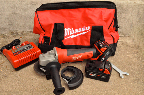 Milwaukee M18 Grinder