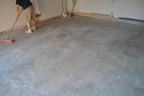 Concrete Floor Paint Matt