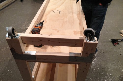 How to Build a Heavy Duty Workbench - One Project Closer