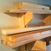 How to Build a Wall-Mounted Lumber Storage Rack