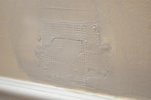 plastering large hole in wall how to fix
