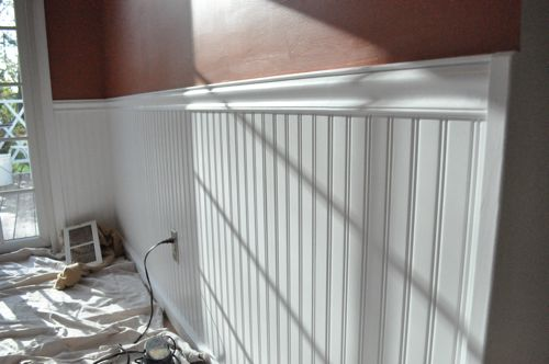 How Install Beadboard Wainscoting One Project Closer