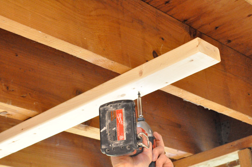 Shoring Up A Floor : How to replace a load bearing door header one project closer
