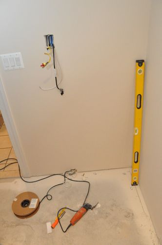 how to install electric radiant heat under bathroom tile one project