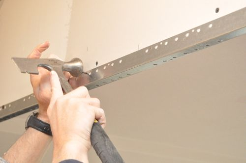 Sheetrock Corner Bead Installation : How to install drywall with pics hanging taping
