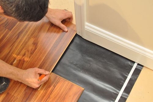 How To Install A Floating Laminate Floor One Project Closer