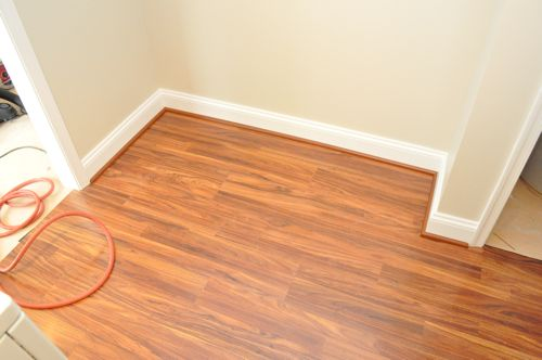 In one short day this floor is complete, and it looks beautiful.