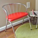 """Why Do Fools Fall in Love""…with Vintage Red Chairs!"