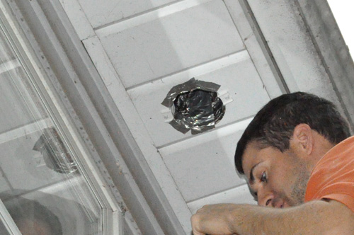 How to Install a Retrofit Bathroom Vent Fan - One Project ...