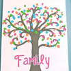 Fingerprint Tree Canvas