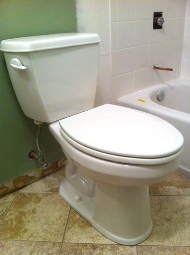 how to install a toilet like a pro one project closer. Black Bedroom Furniture Sets. Home Design Ideas