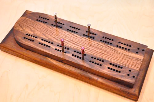 Build A Cribbage Board Layout