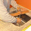 Back in the Basement: Granite Countertops