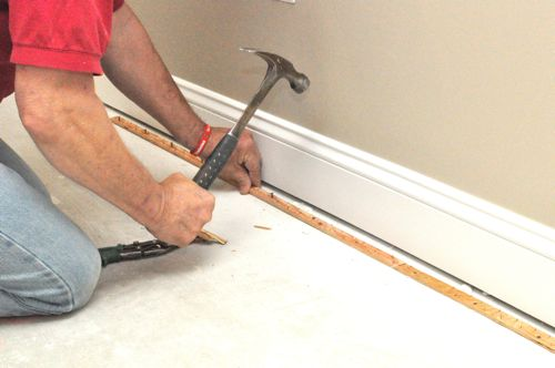 tackless strips for installing carpet