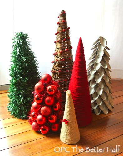 DIY Christmas Trees - OPC The Better Half