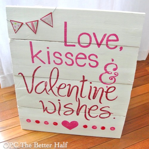 Love, Kisses and Valentine Wishes - OPC The Better Half