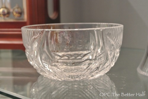 Claddagh Bowl from Ireland - OPC The Better Half