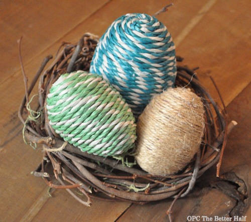 Rope Easter Eggs - OPC The Better Half
