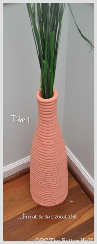 Take 1 Coral  Chalk Paint - OPC The Better Half