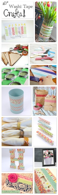 40+ Washi Tape Crafts - OPC The Better Half