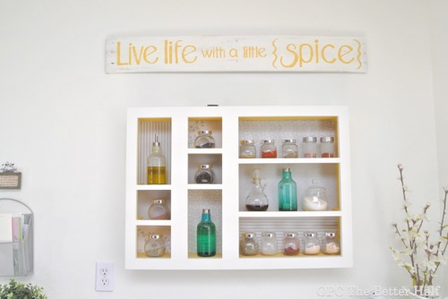 Spice Rack and Pallet Sign - OPC The Better Half