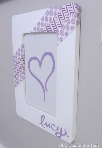 Washi Tape Frame - OPC The Better Half