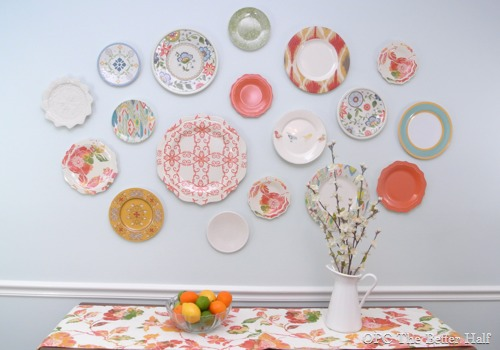 Plastic Plate Wall - OPC The Better Half