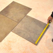 How to Mark Guidelines for Installing Tile