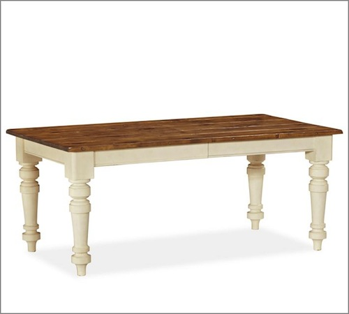 Pottery Barn Keaton Extending Dining Table