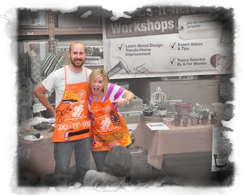 OPC and The Better Half at Home Depot DIH workshop