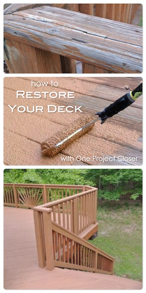Restore Your Deck with OneProjectCloser.com