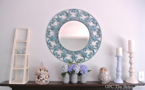 Painted Mirror Makeover from OPC The Better Half