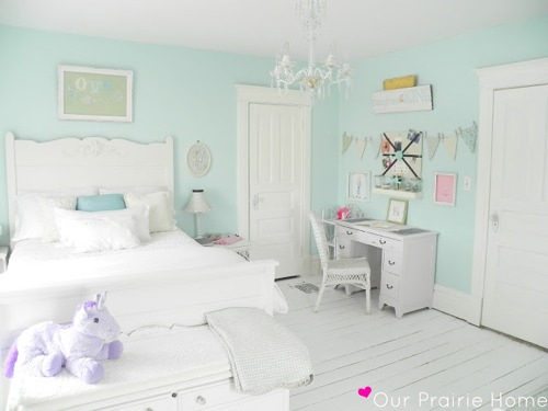 Little girl room reveal