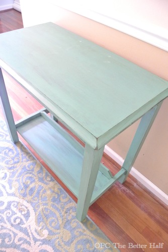 """After"" Painted Hallway Table from OPC The Better Half"