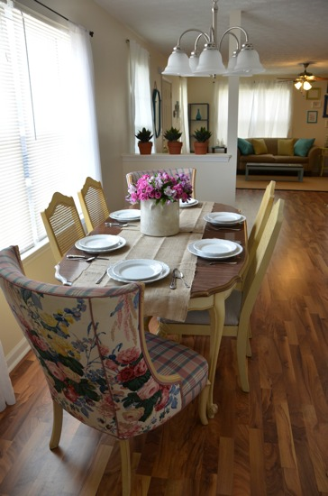 Dining Room from French Country Cottage